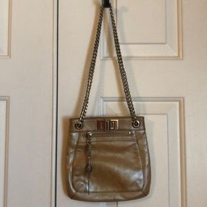 Via Spiga metallic purse